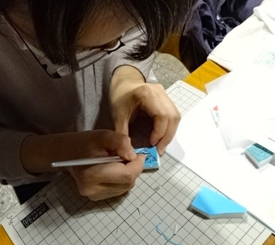 SXS7激彫!