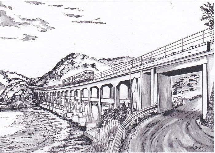 JR惣郷鉄橋