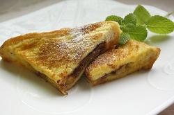 明治おいしい牛乳 チョコバナナフレンチトースト