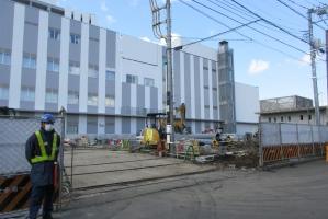 3月3日の市立病院
