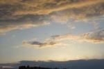 3月11日の夕日④
