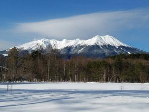 冬の御嶽山2017年