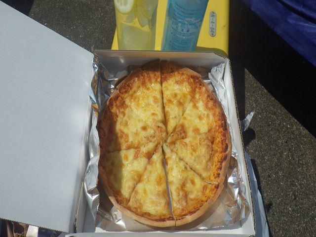 めんツナピザ