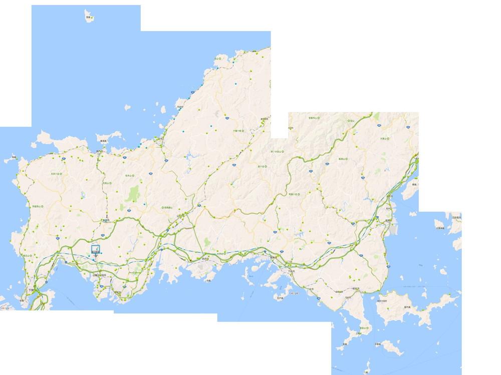 山口県全図