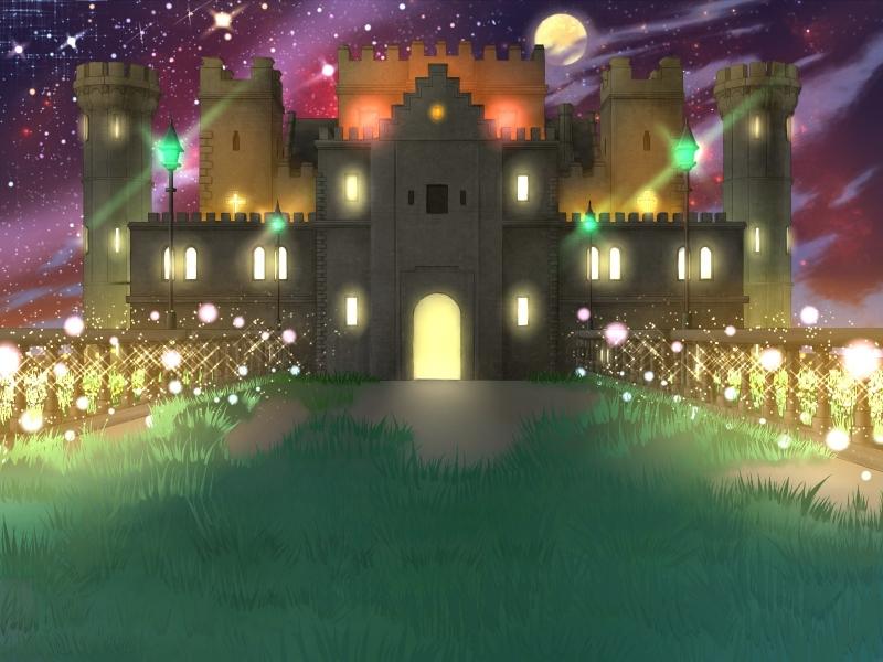 魔王城(夜)