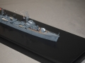 駆逐艦萩艦首