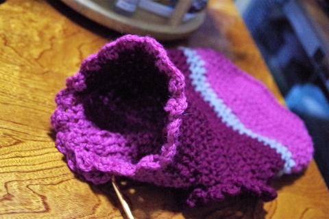 きなみちゃんのお洋服 エリザベスびらびら付きセーター