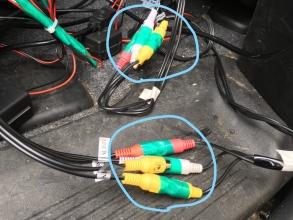 フリード ヘッドレストモニターの電源供給!電工ペンチ&ギボシ端子使いになろう♪配線自由自在!