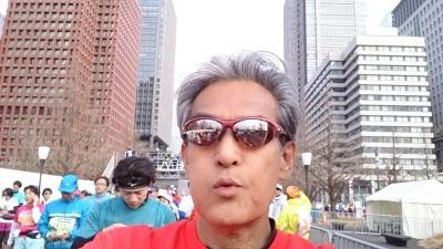 東京マラソン フィニッシュ