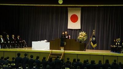 春日部共栄中学校卒業式02