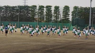 県立川口 体育の授業