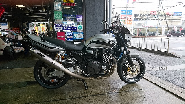 XJR納車0001