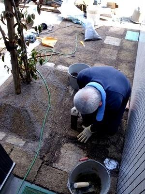 fumizononagaya芝敷き1703
