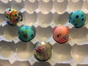 mon easter eggs
