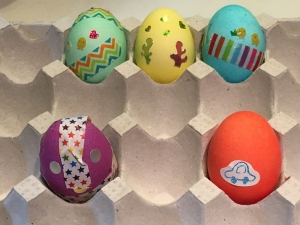wed easter eggs