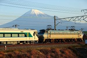 富士山バックですよ~