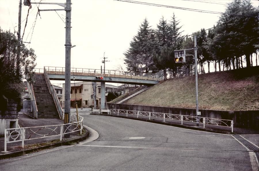 行き止まりの陸橋