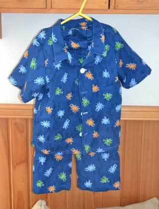 腹巻付きパジャマ
