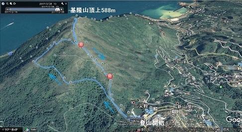 21 基隆山登山ルート2