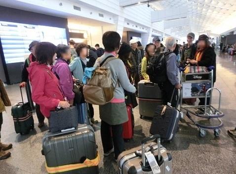 9 桃園国際空港へ到着