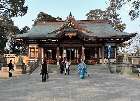 14 赤穂大石神社