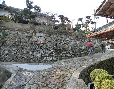 17 室生寺付近の東海自然歩道を登る