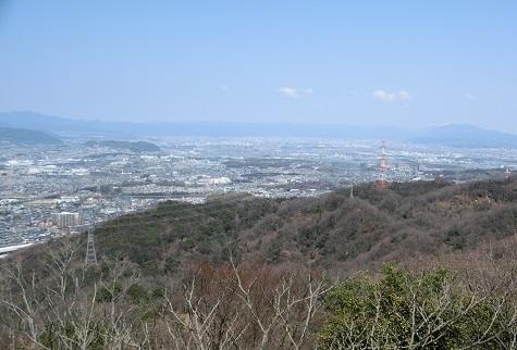 8 京都方面の展望