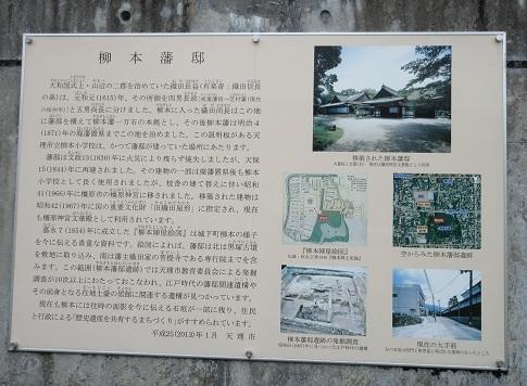 8 柳本藩の説明