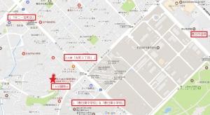若葉台西3区画分譲地_近隣図