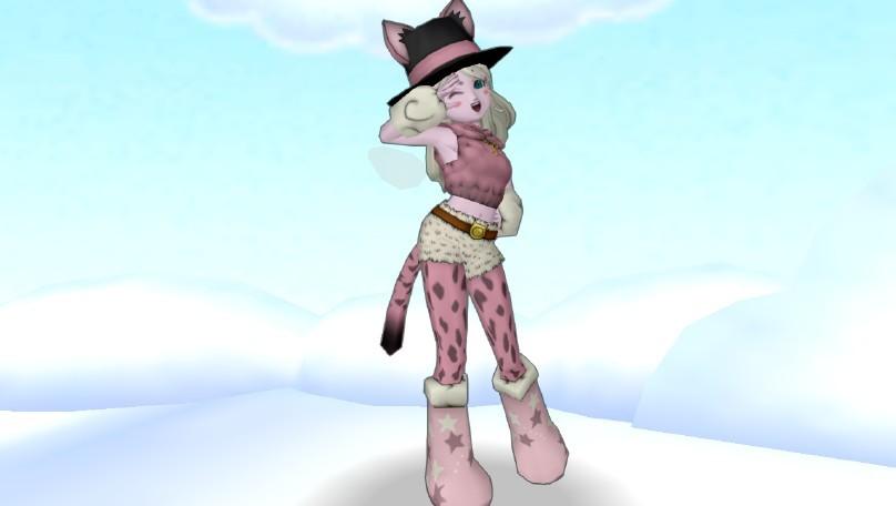 魔物管理人の帽子・ヤマネコ