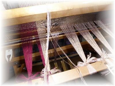 裂き織りマフラー15-3