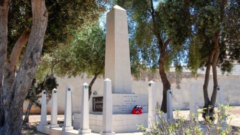 第二特務艦隊戦死者の碑