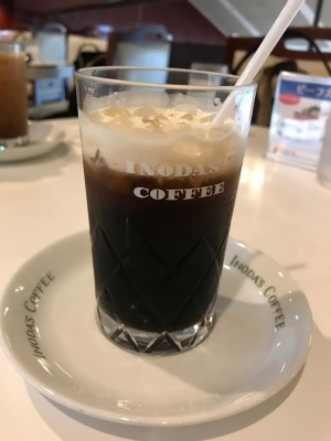 イノダ珈琲店本店のアイスコーヒー