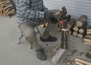 薪作り 2