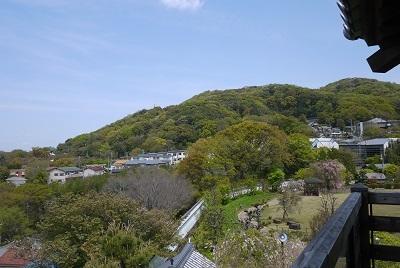 2017年春 お城からの光景2