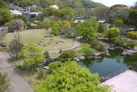 2017年春 お城からの光景