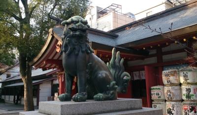 大阪御霊神社02狛b