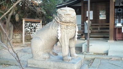 安居神社03狛a