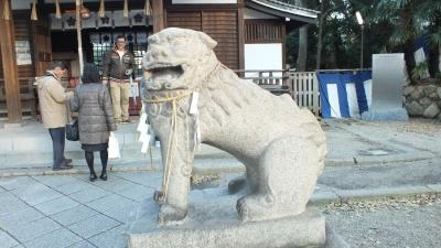 安居神社04狛