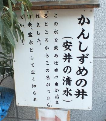 安居神社06井戸a