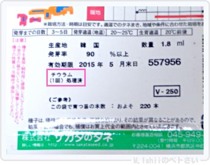 ペトさい(ミニ白菜)03