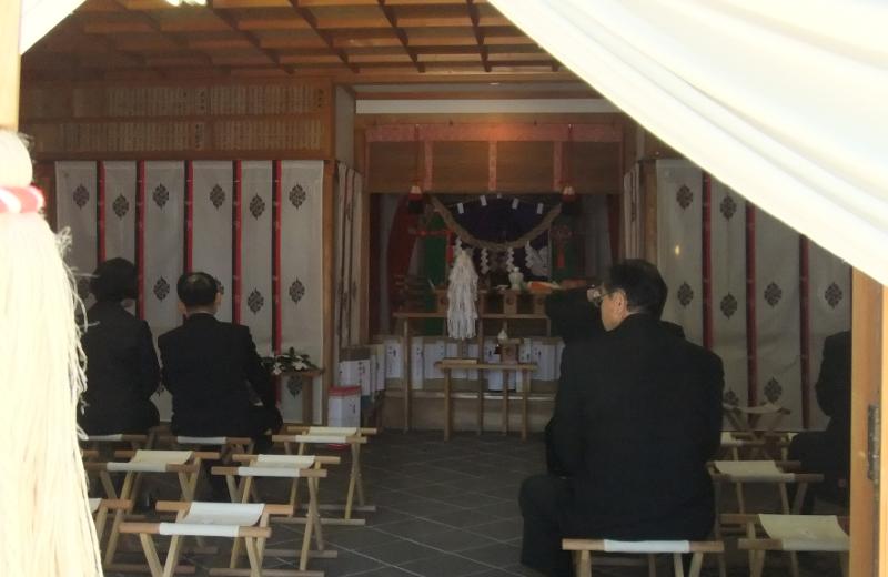 神明神社神事2