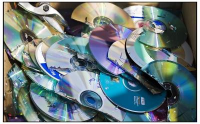 沢山焼いたCD-R