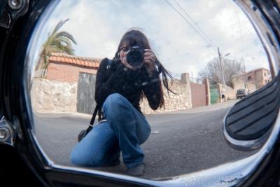 カメラとバイクとワタシ