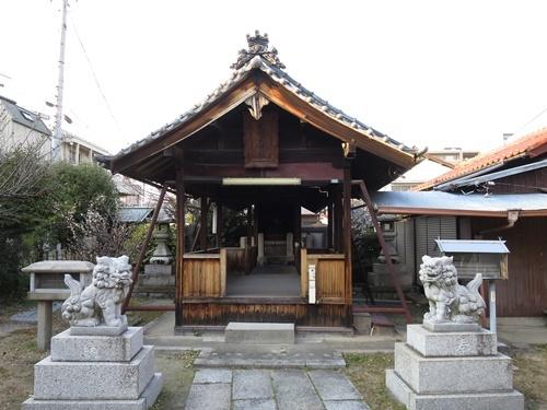 武嶋天神社②