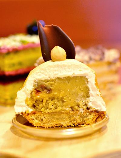 【ケーキ】Wボレロ「サント・ヴィクトワール」 (2)