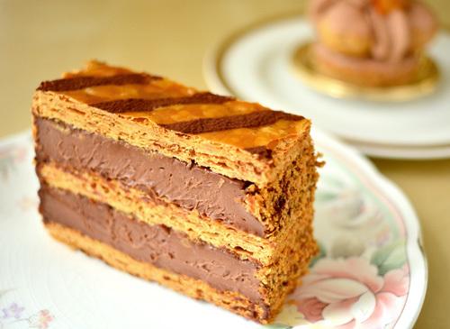 【ケーキ】リョウラ「ミルフィーユショコラ」 (2)