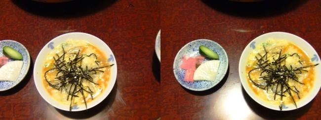 日本料理 桜美琴 うなちり⑤(交差法)