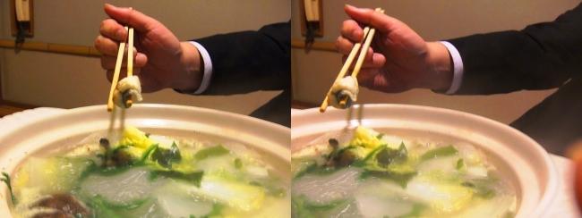 日本料理 桜美琴 うなちり④(平行法)