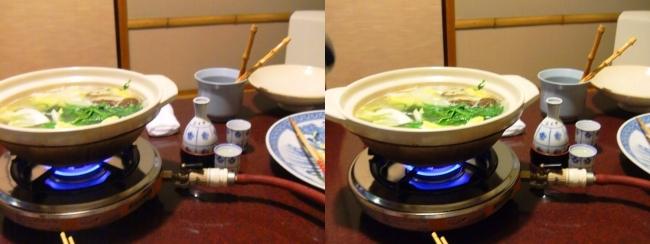 日本料理 桜美琴 うなちり③(交差法)